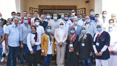 وزيرة الصحة: تسجيل ٨٠٠ ألف مواطن بمنظومة التأمين الصحي الشامل بالأقصر