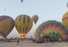 سماء الأقصر تتزين بـ 9 رحلات بالون طائر يقل 130 سائحًا